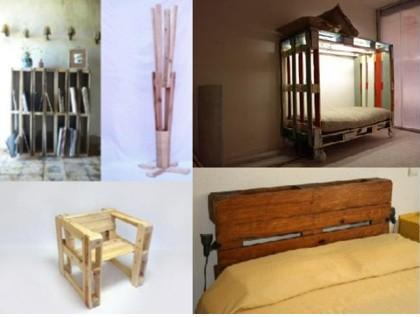 Muebles de dise o con palets reutilizados for Diseno de muebles con palets